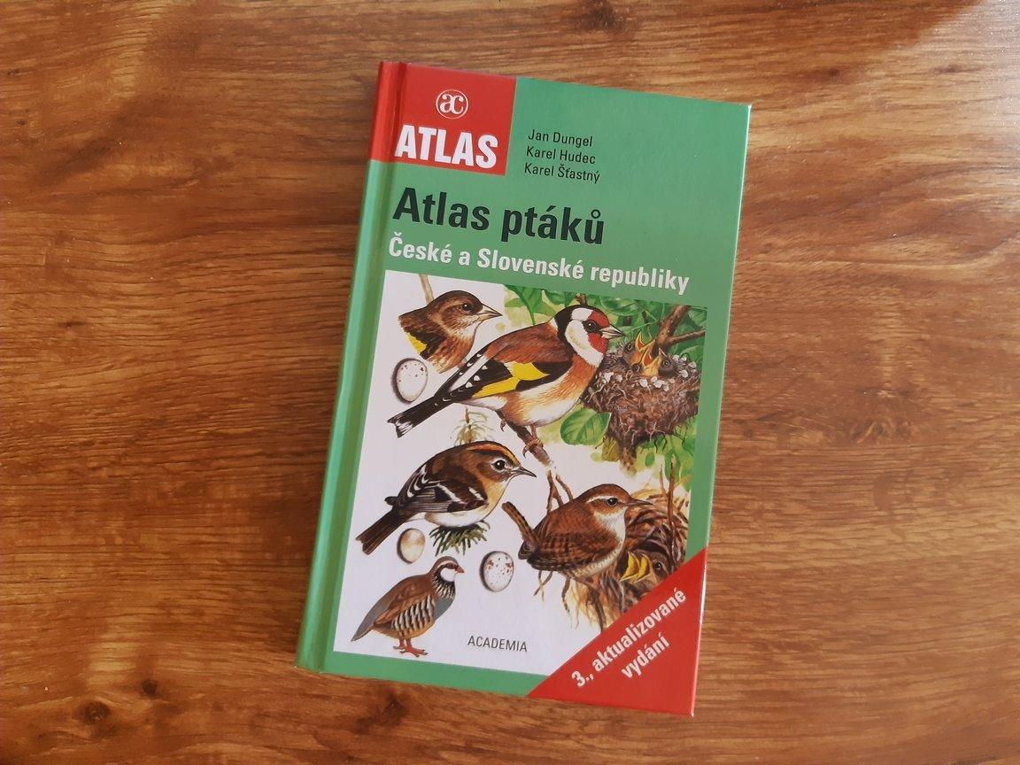 obálka knihy Atlas ptáků